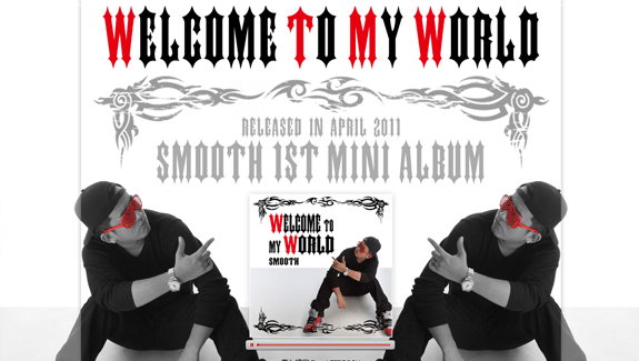 WELCOME TO MY WORLD SMOOTH